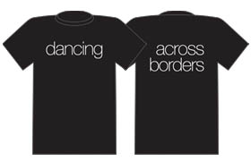 [image] Dancing Across Borders t-shirt
